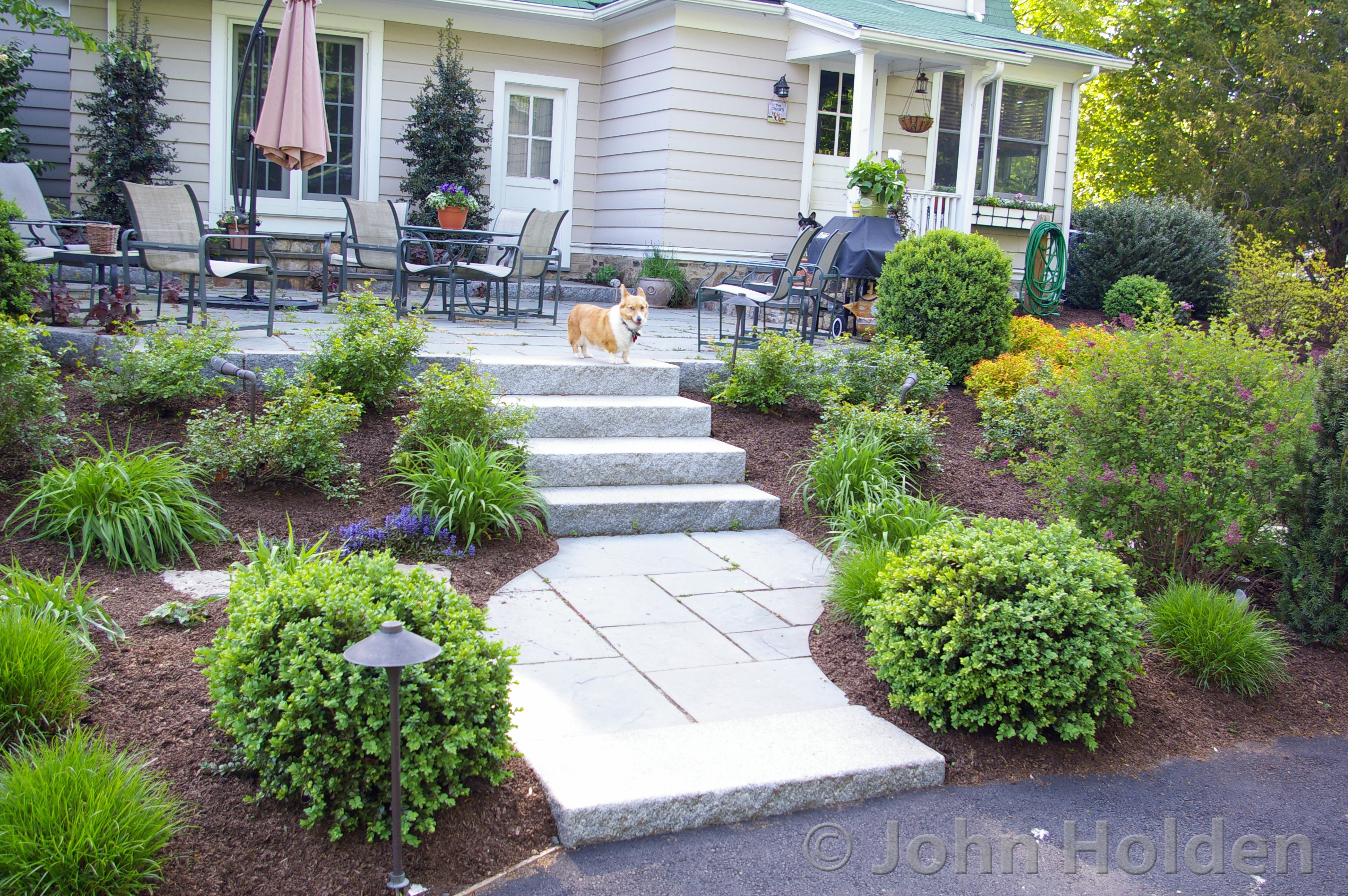 Trumbull CT Backyard Retreat Landscape Design After