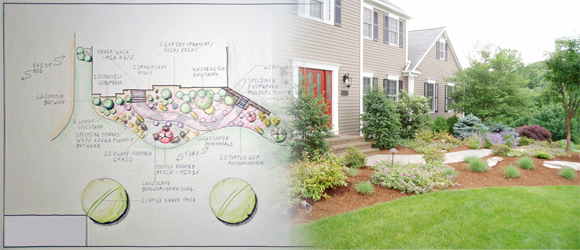 Newtown ct landscape design site analysis land designs for Home designs unlimited llc