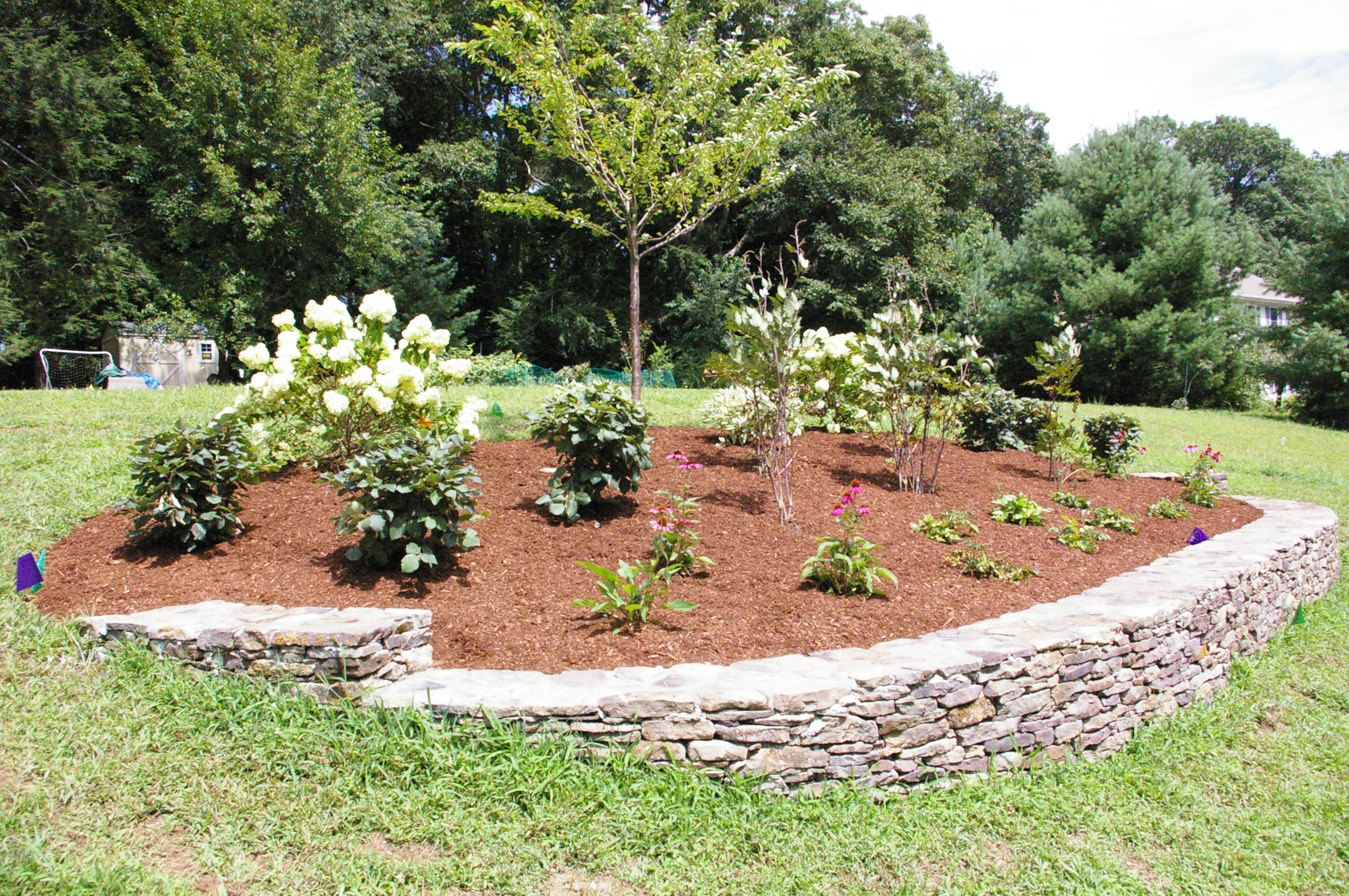berm for curb appeal land designs unlimited llc